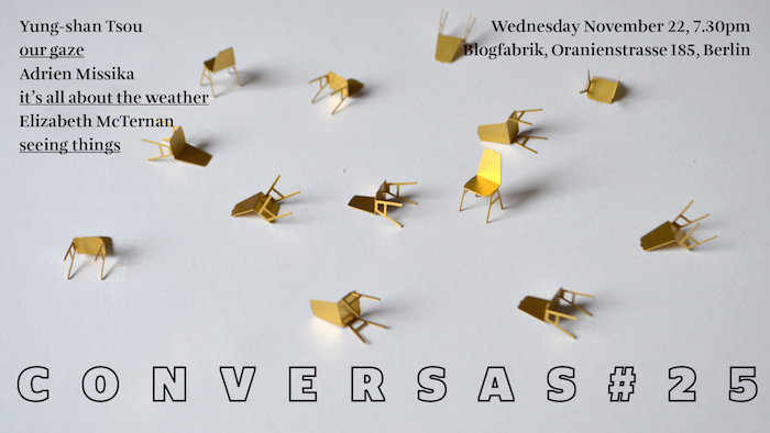 Conversas Berlin #25, November 22nd 2017