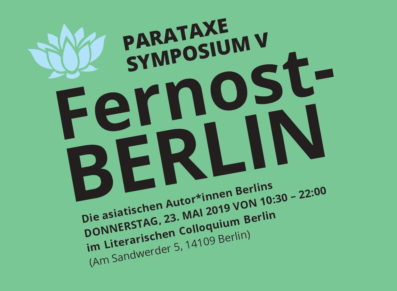 FernostBerlin – die asiatischen Autor*innen Berlins